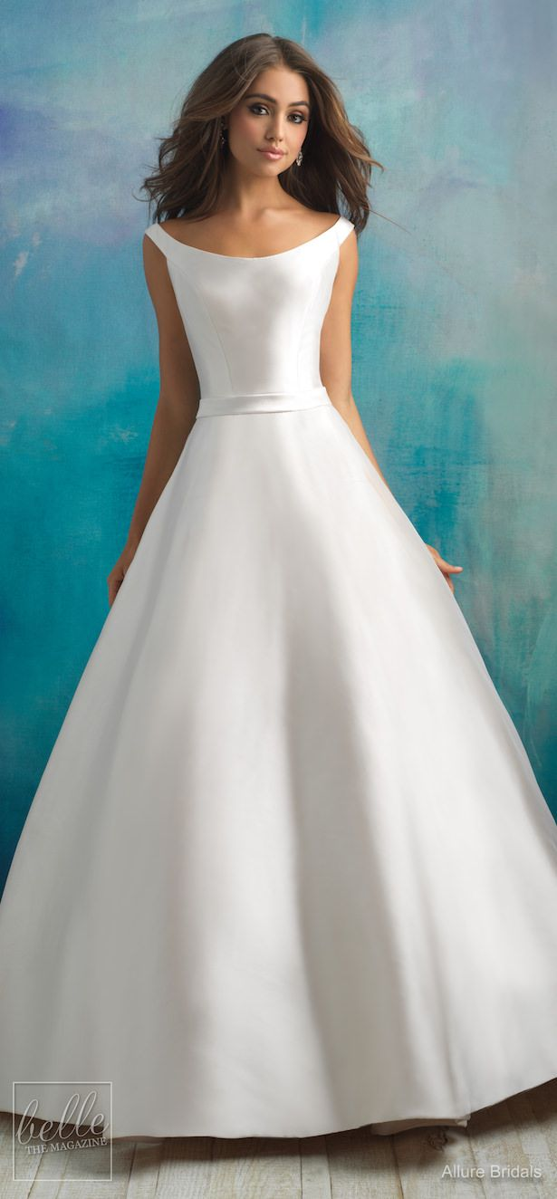 Simple Wedding Dresses Inspired by Meghan Markle | Wedding Gowns ...