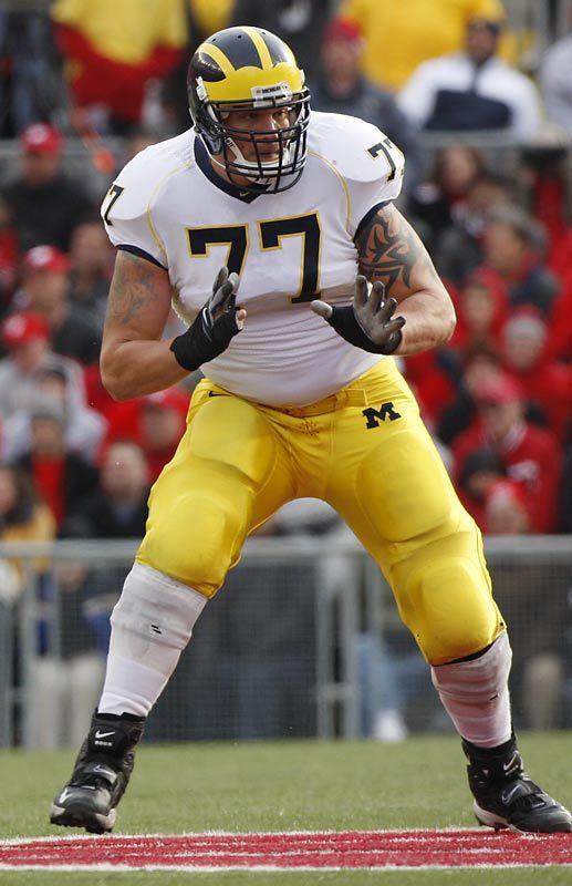 Jake Long 1 Nfl Draft Pick Michigan Wolverines Michigan