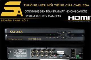Đầu ghi hình Smart DVR5A 8 kênh