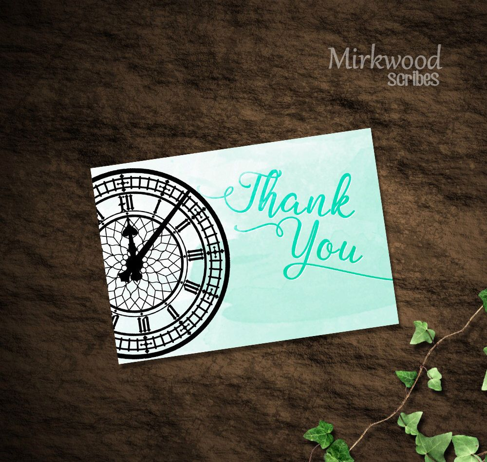 Neverland Thank You Cards | Instant Download Printable Thank-You ...