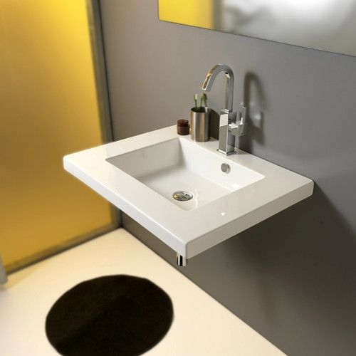 Found It At Wayfair  Mars Ceramic Bathroom Sink With Overflow Endearing Wayfair Bathroom Sinks Review