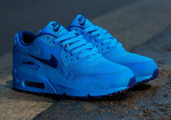 info for 71b90 4047b Nike Air Max 90 GS – Photo Blue – Deep Royal Blue