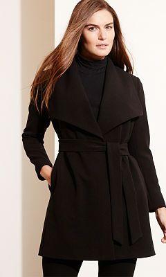gran descuento 7f9c9 d182c Escudo crepé Abrir-Frente - Lauren Mujer chaquetas y abrigos ...