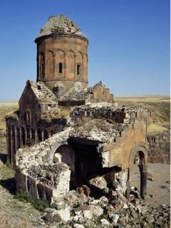 Ani Cathedral, located in modern-day eastern Turkey, is a ...