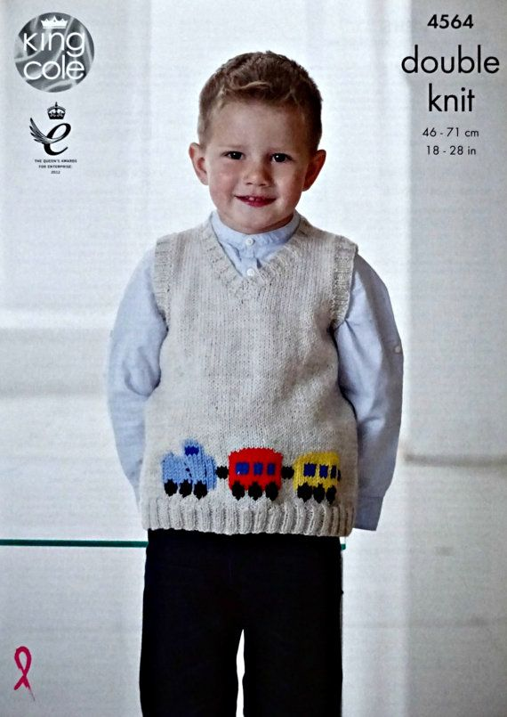 KNITTING PATTERN FOR CHILDS CAT THEMED JUMPER AND HAT SET = DOUBLE KNIT WOOL