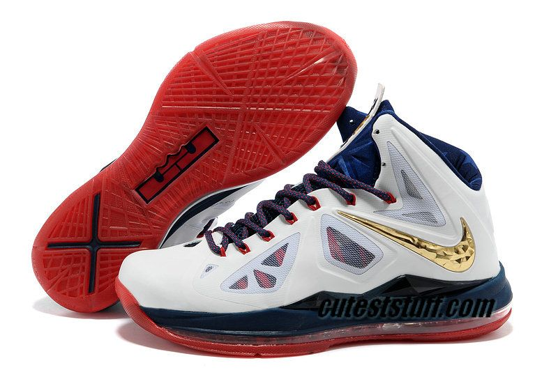 Nike Basketball Lebron 10 Shoes Olympic Team USA