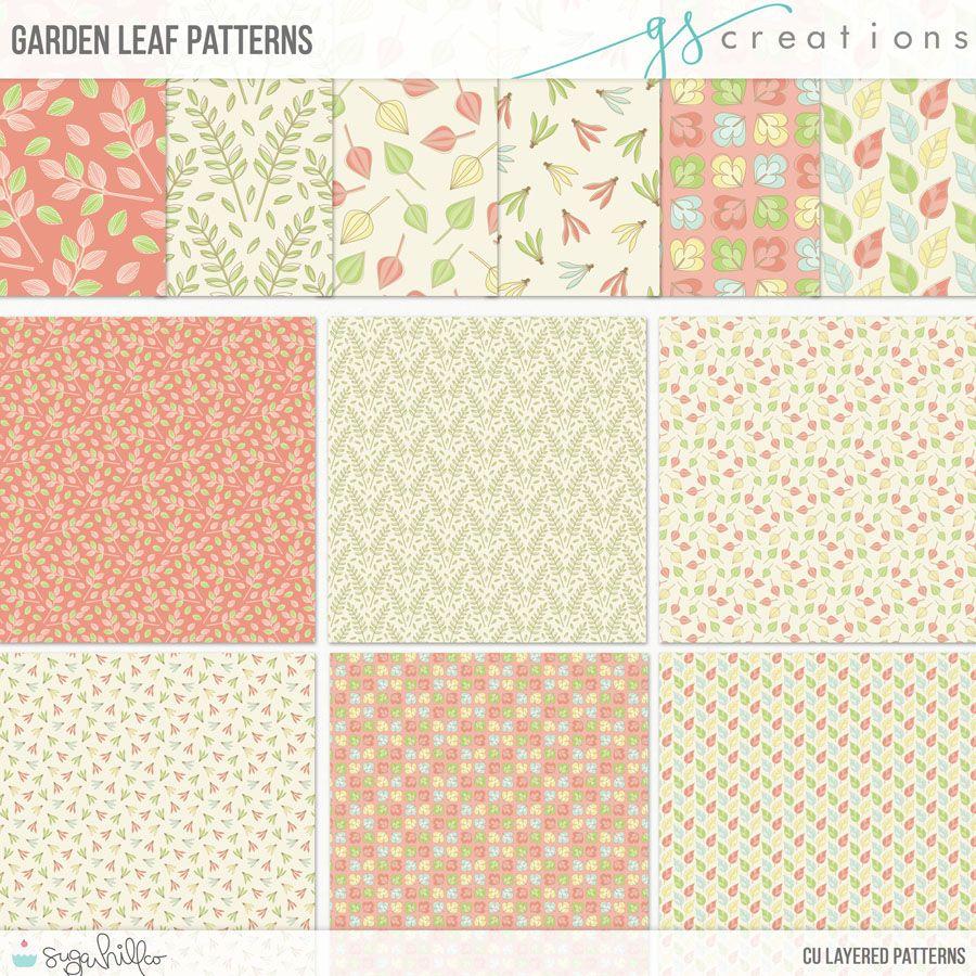 Garden Leaf Patterns