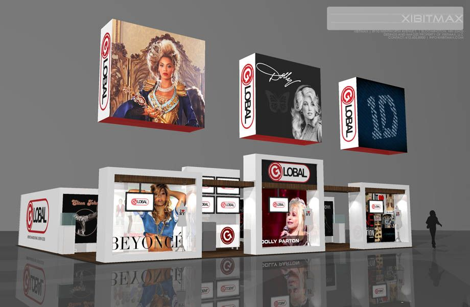 Global merchandising 4050 trade show display find more on