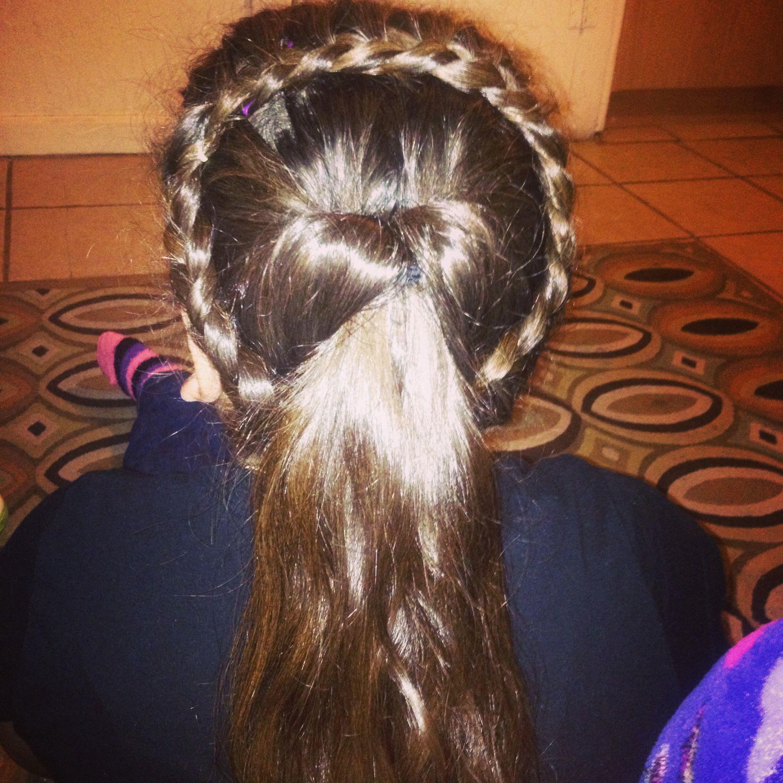 Crown wrapped around beautiful braids pinterest beautiful
