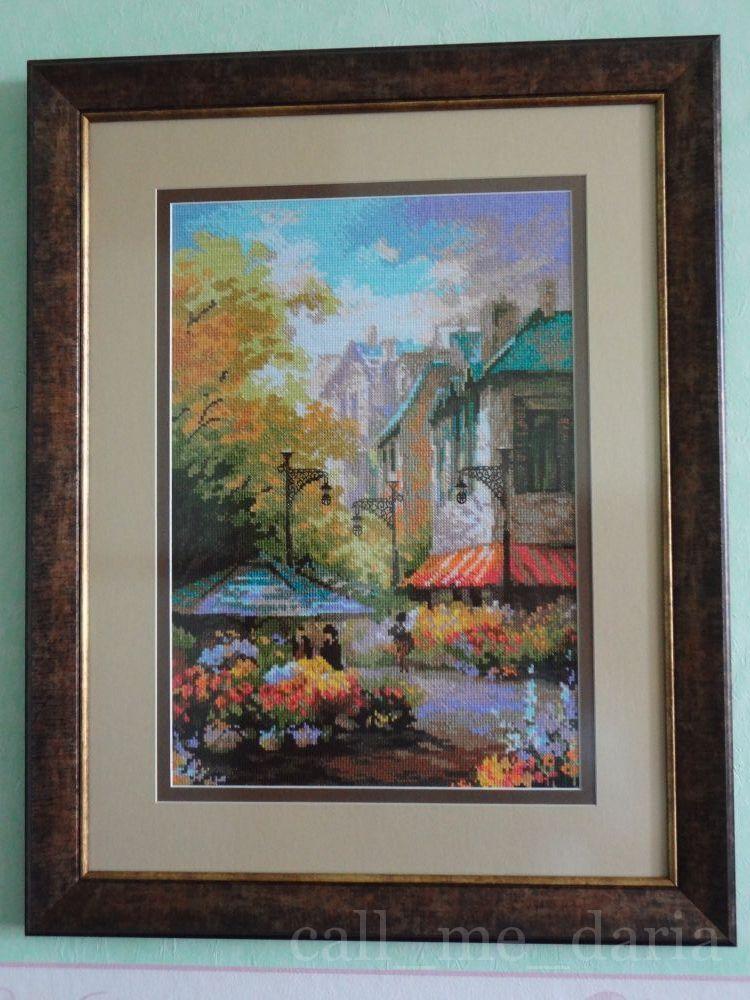 """Риолис, """"Цветочная улица"""" 1306, 26 цветов, нитки шерсть."""