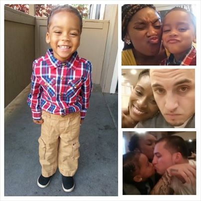 My gang<3 My 2 year old Puerto Rican/African American baby boy ]