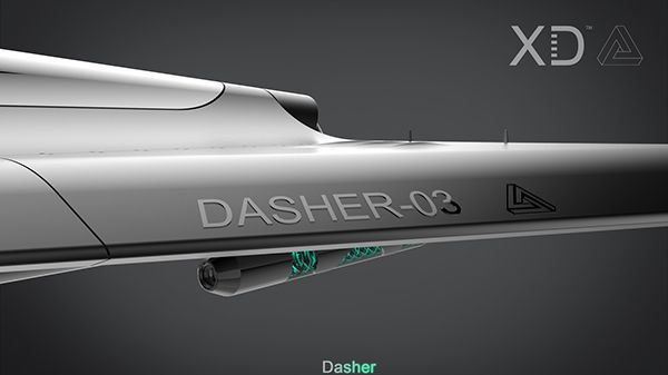 The Dasher on Behance