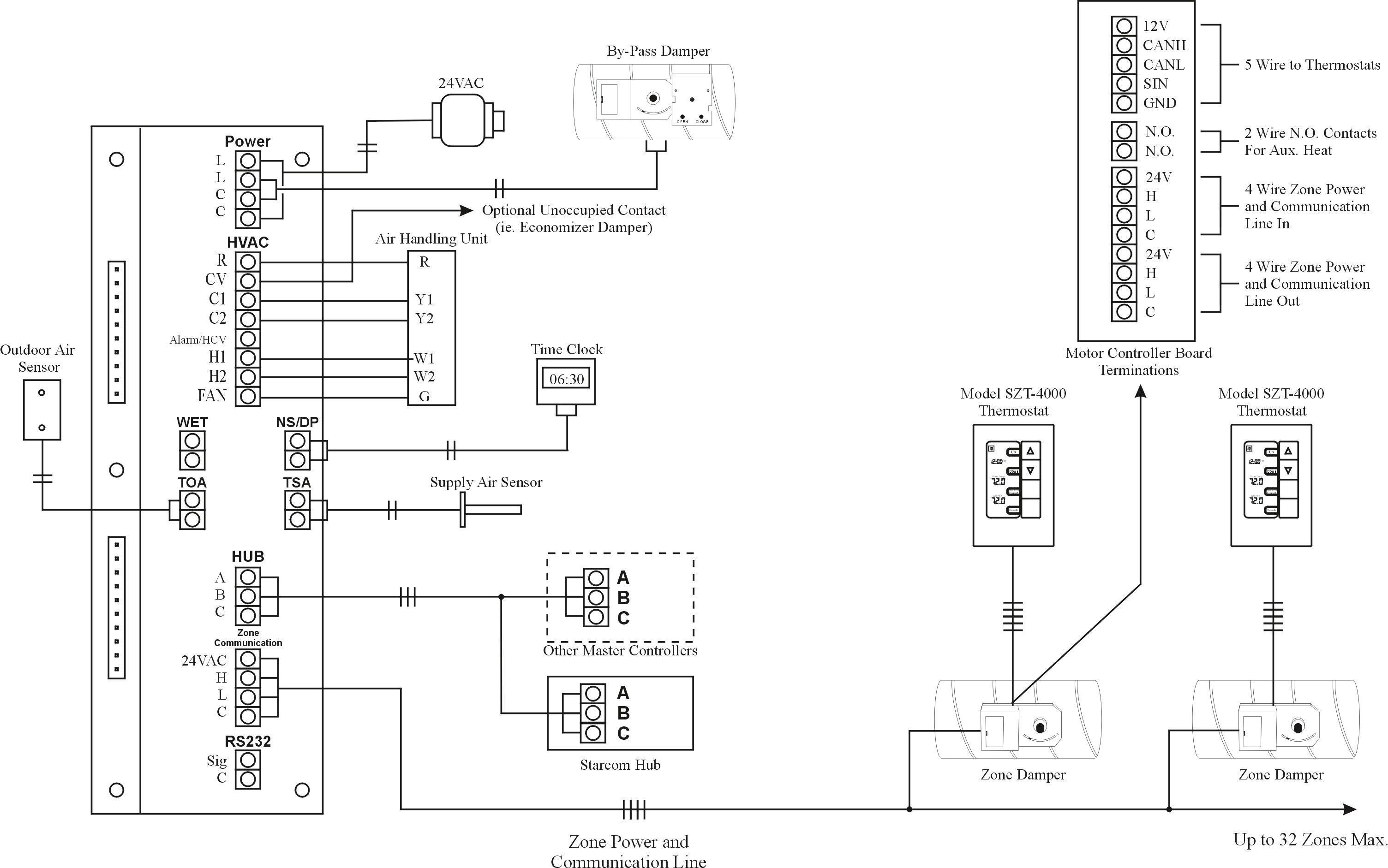 Boiler Wiring Diagram For Thermostat