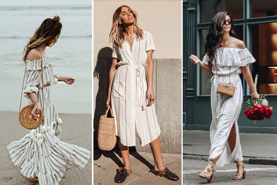 Tendência Bolsa de Palha | Fashion, Dresses, Dress outfits