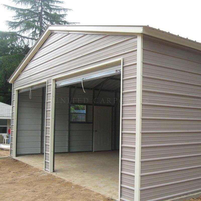 24' x 36' x 9' Vertical Style Metal Building Metal