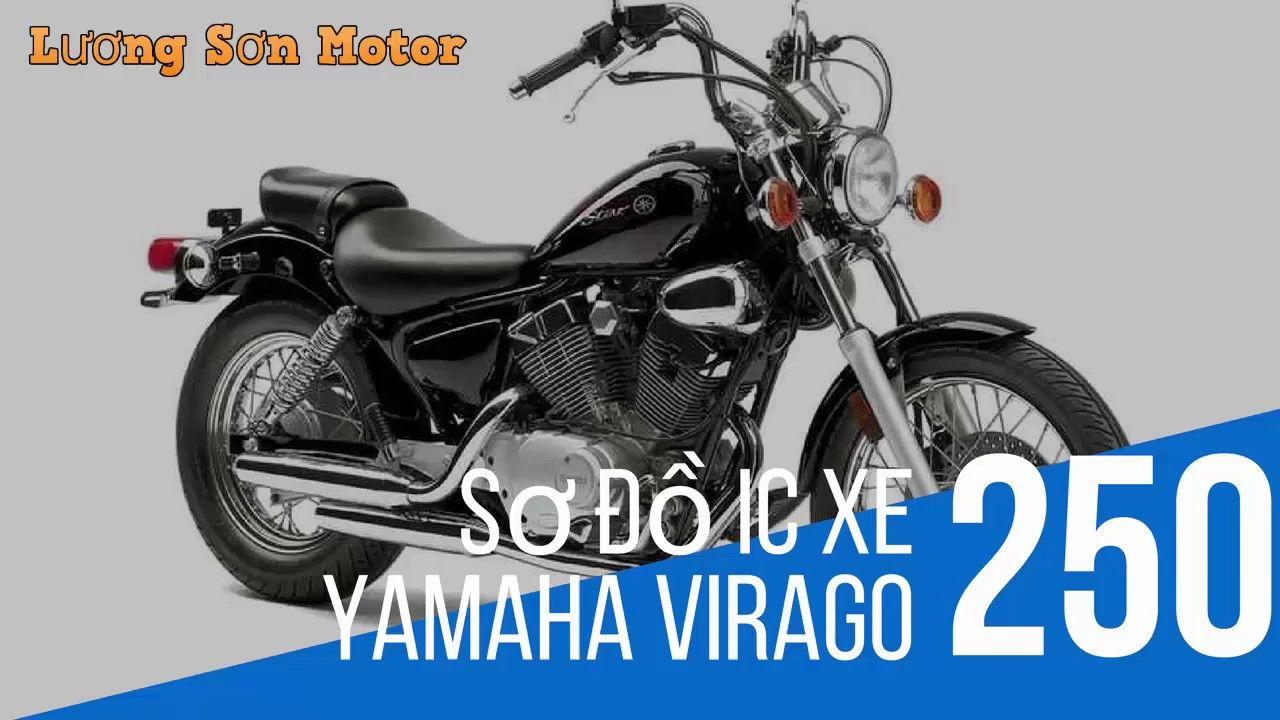 Sơ đồ IC xe yamaha Virago 250