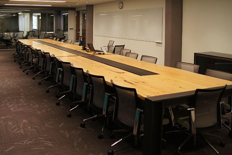 Monterey Cypress Live Edge Table | Northwood Design Partners #office # Furniture #design #