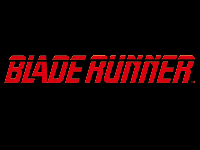 Reverse Engineering Blade Runner Blade Runner Movie Titles Title Card