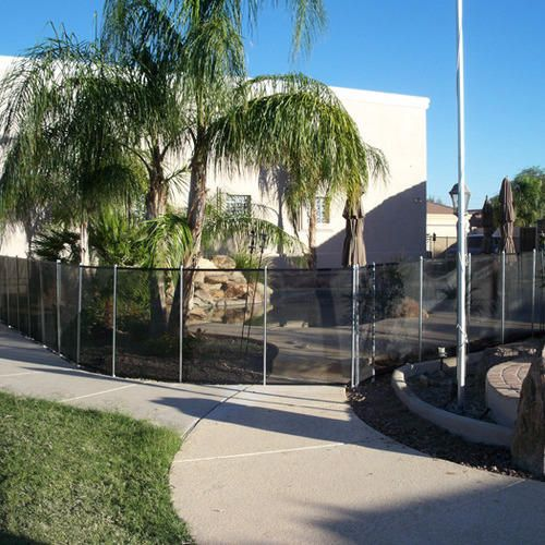 Entire Pool Area - BABY BARRIER® POOL FENCE Pool Gallery