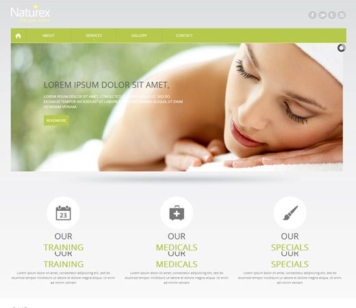 Want to develop your very own beauty website? Then try our today's ...