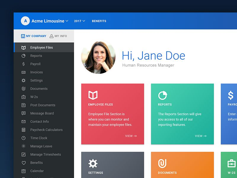 Employee Portal Redesign Wip Portal Design Portal Employee