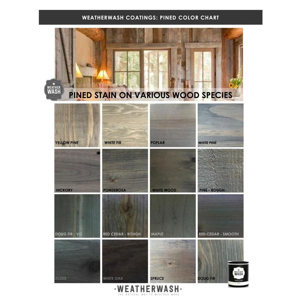 1 Qt Pined Interior Exterior Weatherwash Aging Stain 0021 The Home Depot In 2020 Wood Stains Colors Furniture Grey Stained Wood Wood Stain Colors