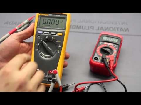 how to use a multimeter for beginners part 1 voltage. Black Bedroom Furniture Sets. Home Design Ideas