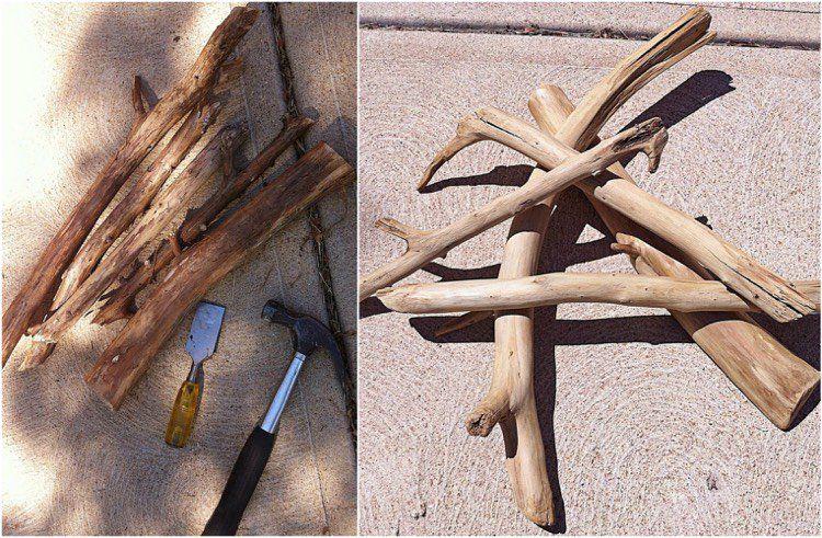 comment faire du bois flott partir de planches de bois classiques travail du bois effet. Black Bedroom Furniture Sets. Home Design Ideas