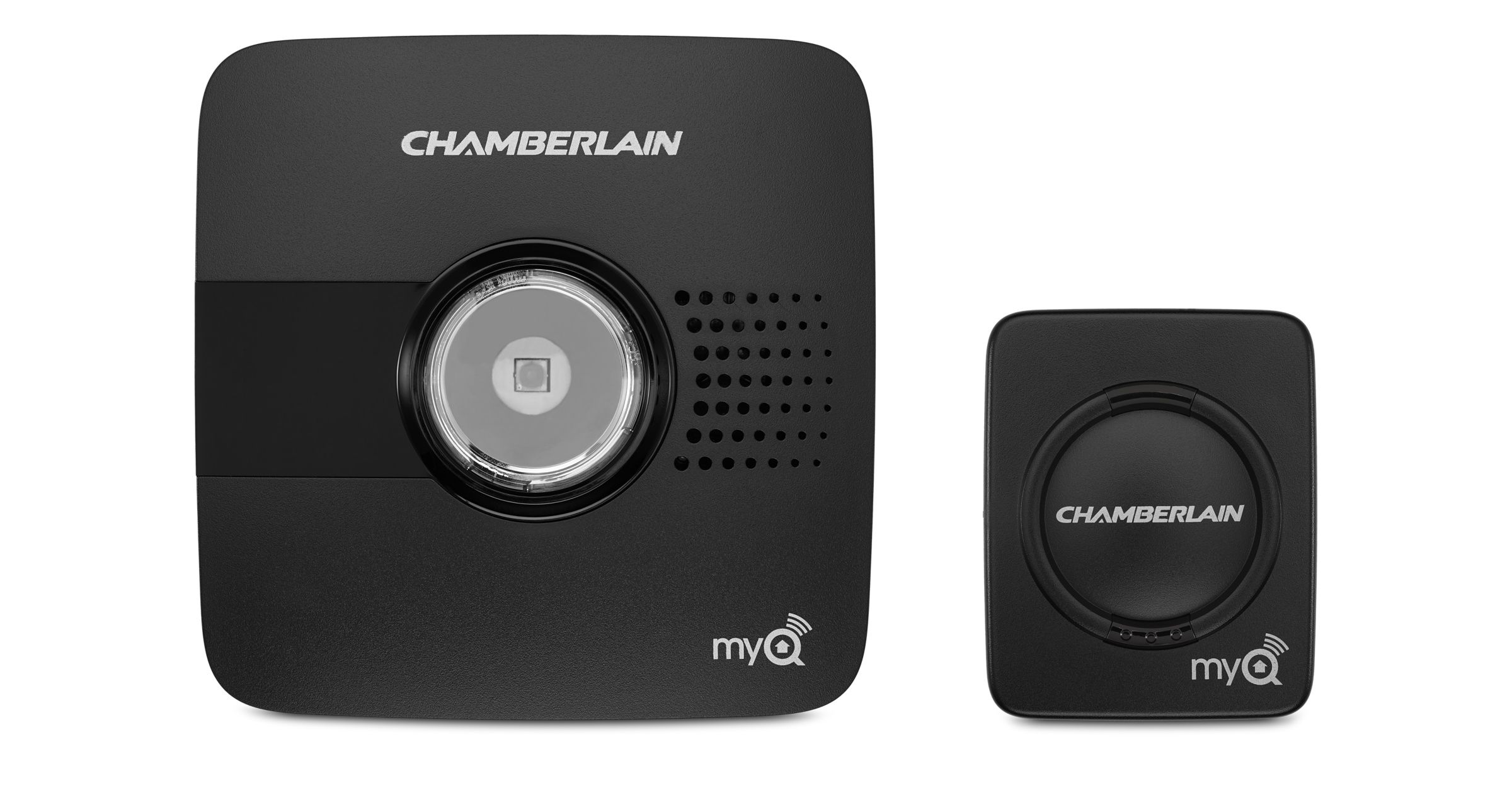 With Chamberlain Myq Garage Your Iphone The Free Myq App Wi Fi And Any Compatible Garage Door Opener You Re Abl Garage Door Controller Home Automation Myq