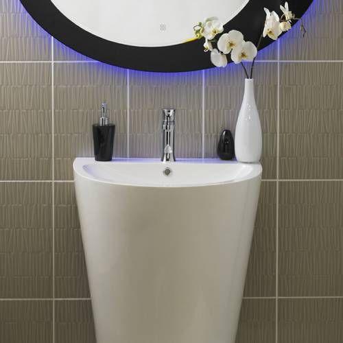 hudson reed vasque colonne lavabo sur pied salles de. Black Bedroom Furniture Sets. Home Design Ideas