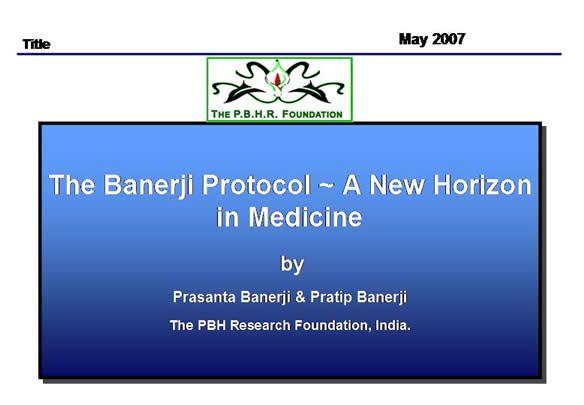 Banerji Protocol Homeopathy Homeopathy Homeopathic