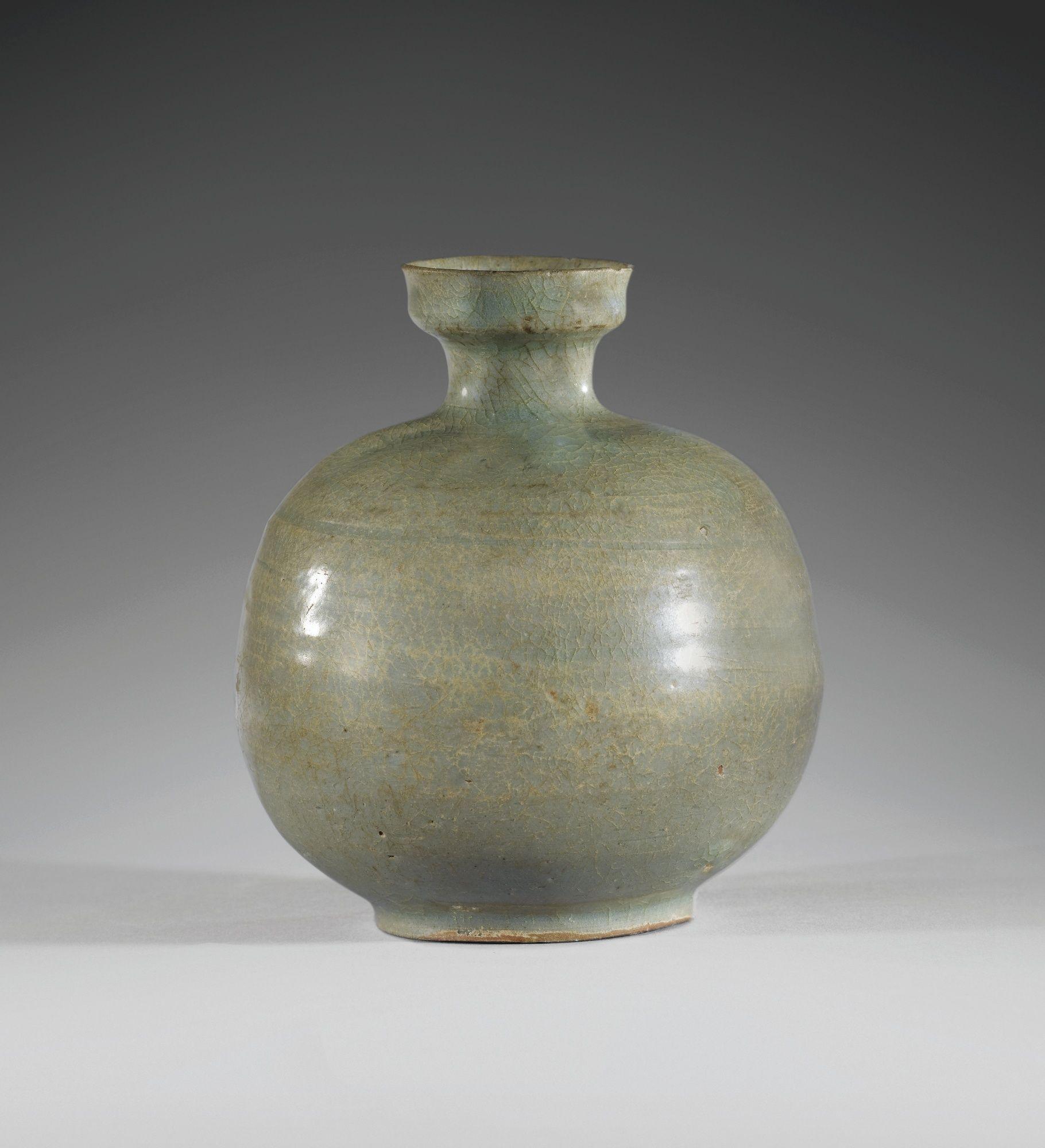 Korean Celadon Bottle