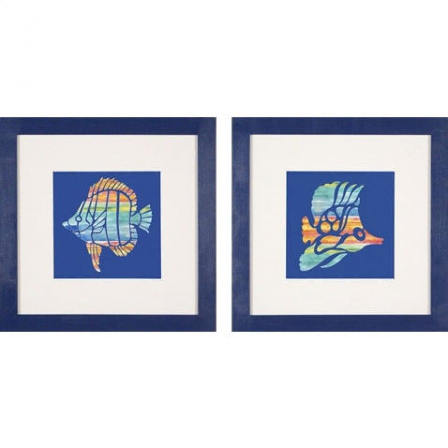 Phoenix Galleries Tropical Fish Framed Prints - Tropical Fish Series ...