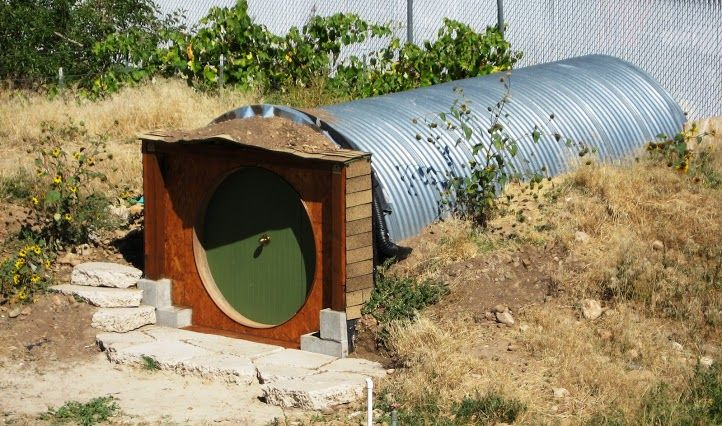 Woodworking ideas gun cabinet hobbit hole playhouse plans for How to build a hobbit hole playhouse