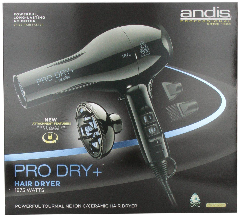 Andis Professional Pro Dry Tourmaline Ionic Ceramic Hair Blow Dryer 1875 Watts 82360 Ceramic Hair Hair Blow Dryer Hair Dryer