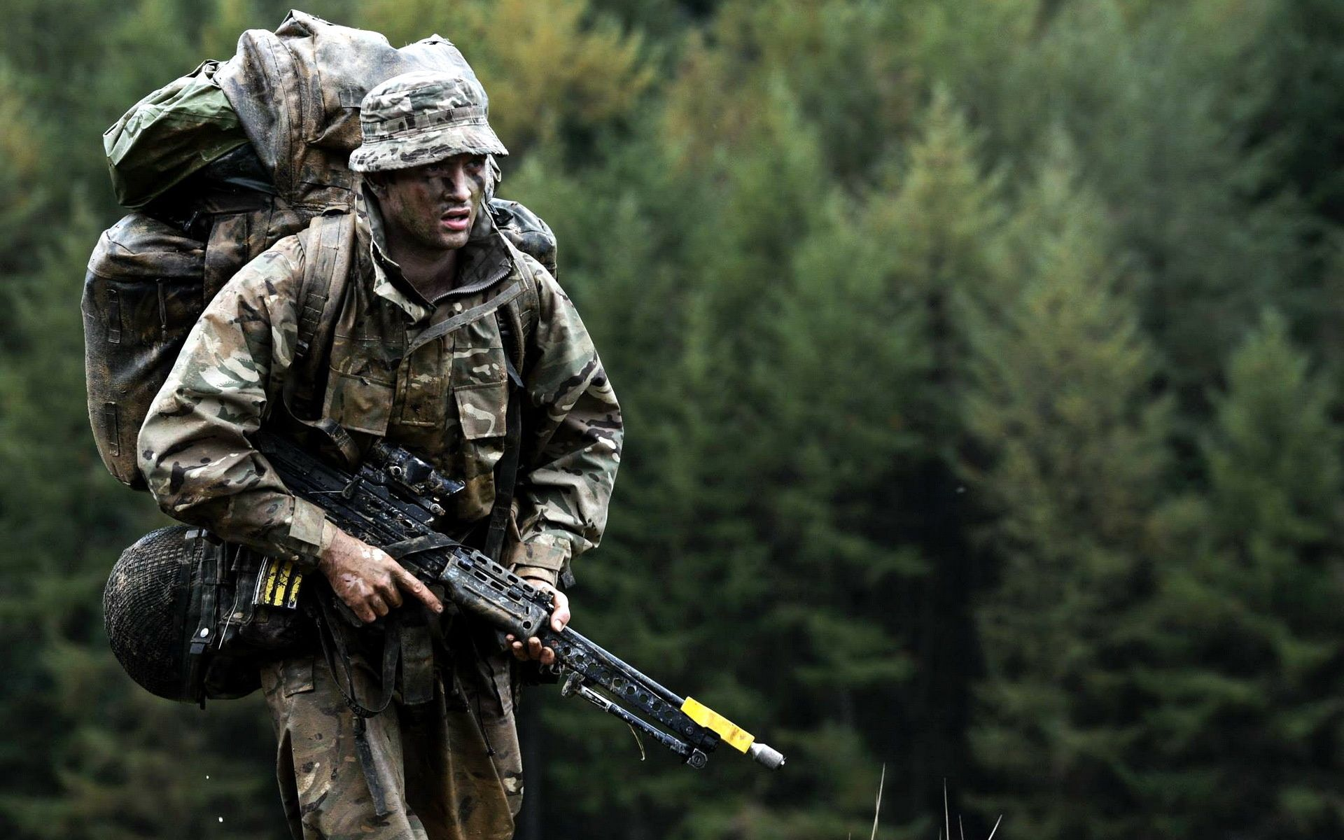 Army Soldier, British Armed