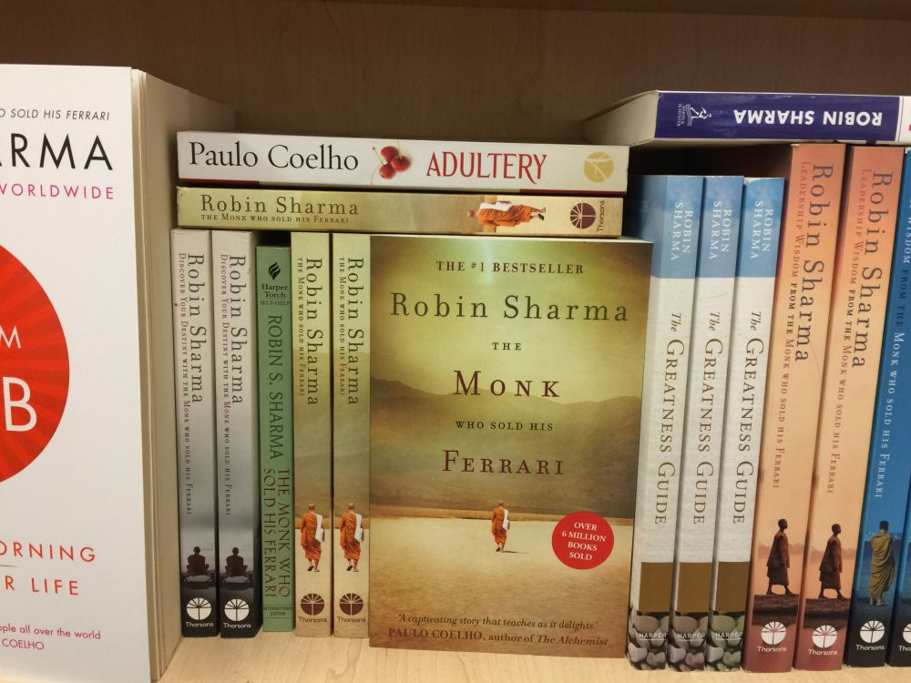 Book Review The Monk Who Sold His Ferrari The Monks