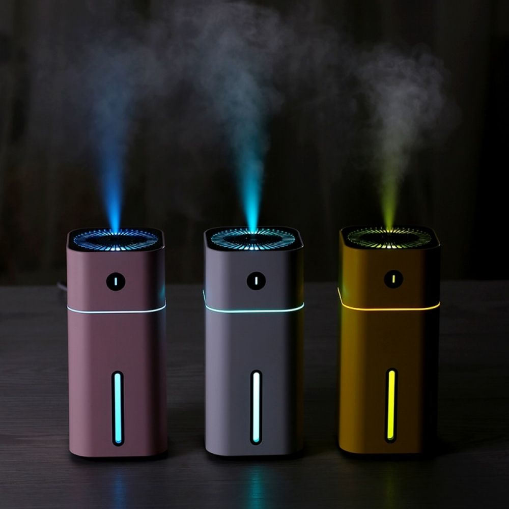 Aroma Essential Oil Diffuser Mini Ultrasonic Square D