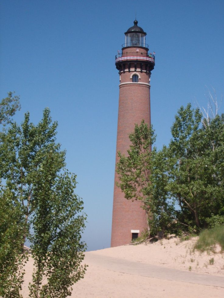 Little Point Sable Lighthouse, Lake Michigan, Mears, Michigan
