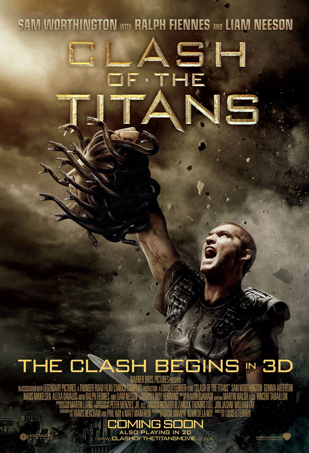 Clash of the Titans Movie Poster (#4 of 11)