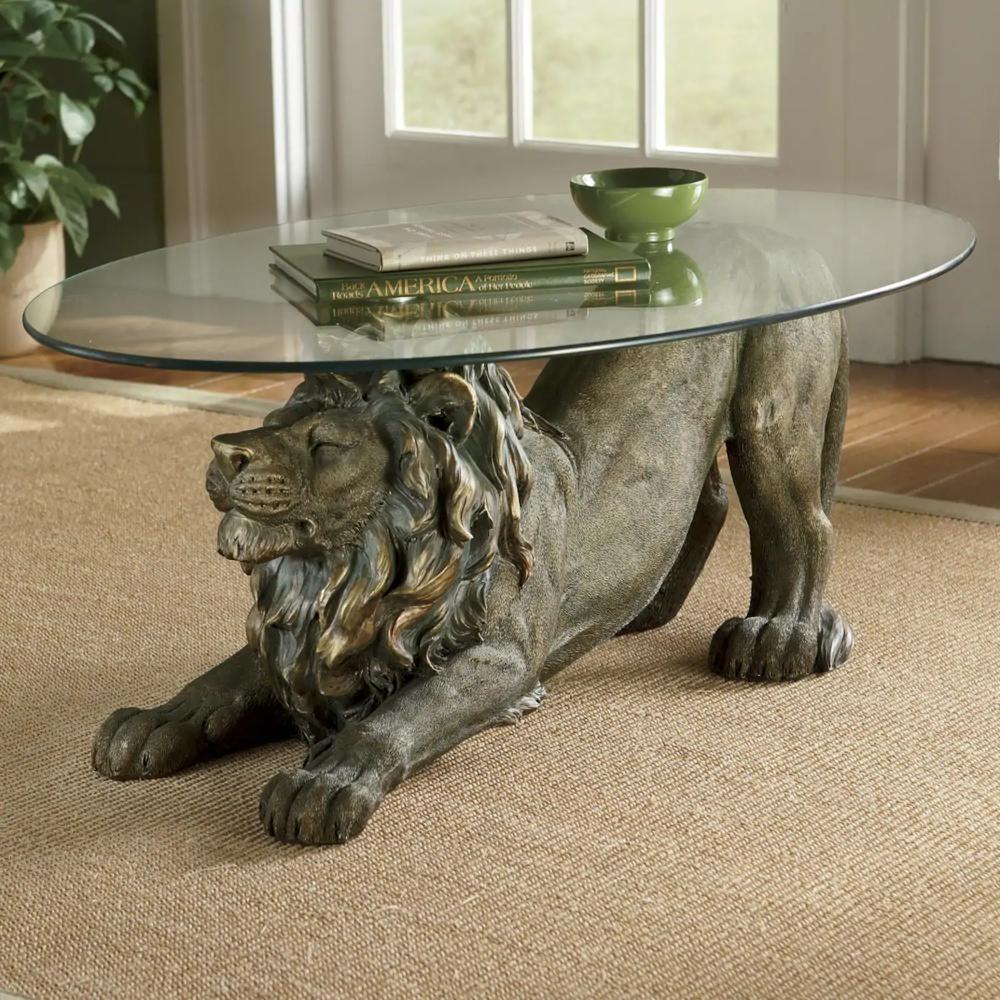 Crouching Lion Table Animal Coffee Table Egyptian Furniture Furniture Decor [ 1000 x 1000 Pixel ]