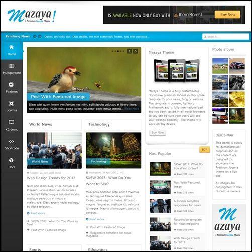 35+ #Joomla 3 Templates – Want A Responsive Website? | CMS - Joomla ...