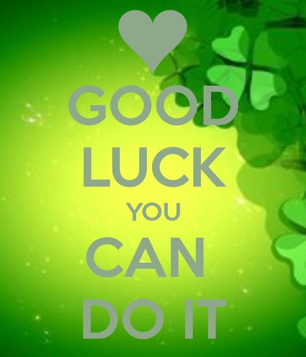 how to wish a friend good luck