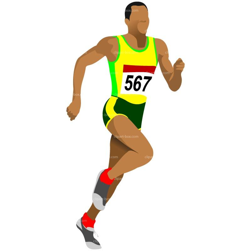 Clipart Athlete Running Clipart Athlet Running Royalty Free Vector Design Vector Free Vector Design Silhouette Vector