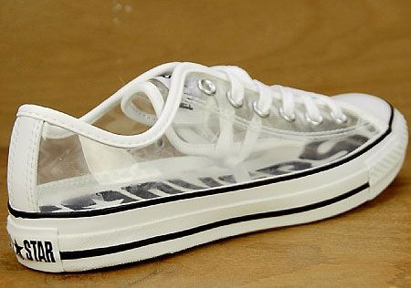 5ff1970750c6 Converse All Star Ox Clear