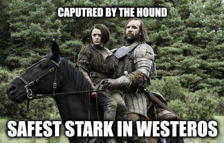 Arya and the Hound, True Story!