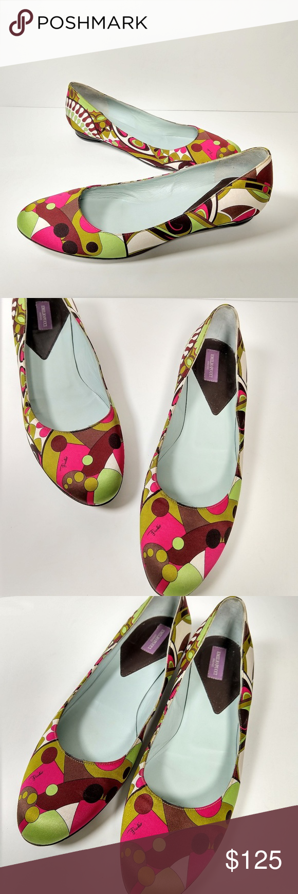 Pin By Amy Galen On My Posh Picks Emilio Pucci Pucci Loafer Flats