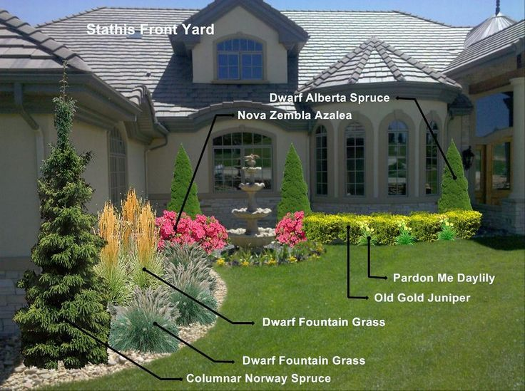 unique front yard landscaping ideas