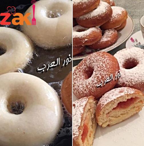 دونات على طريقة المحترفين زاكي Food Best Dishes Sweet Pastries