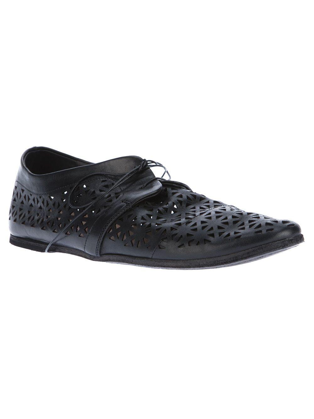 Marsèll Black Studded Loafers